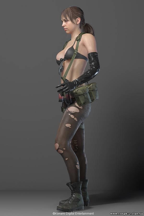 Interview with Stefanie Joosten Quiet in Metal Gear Solid